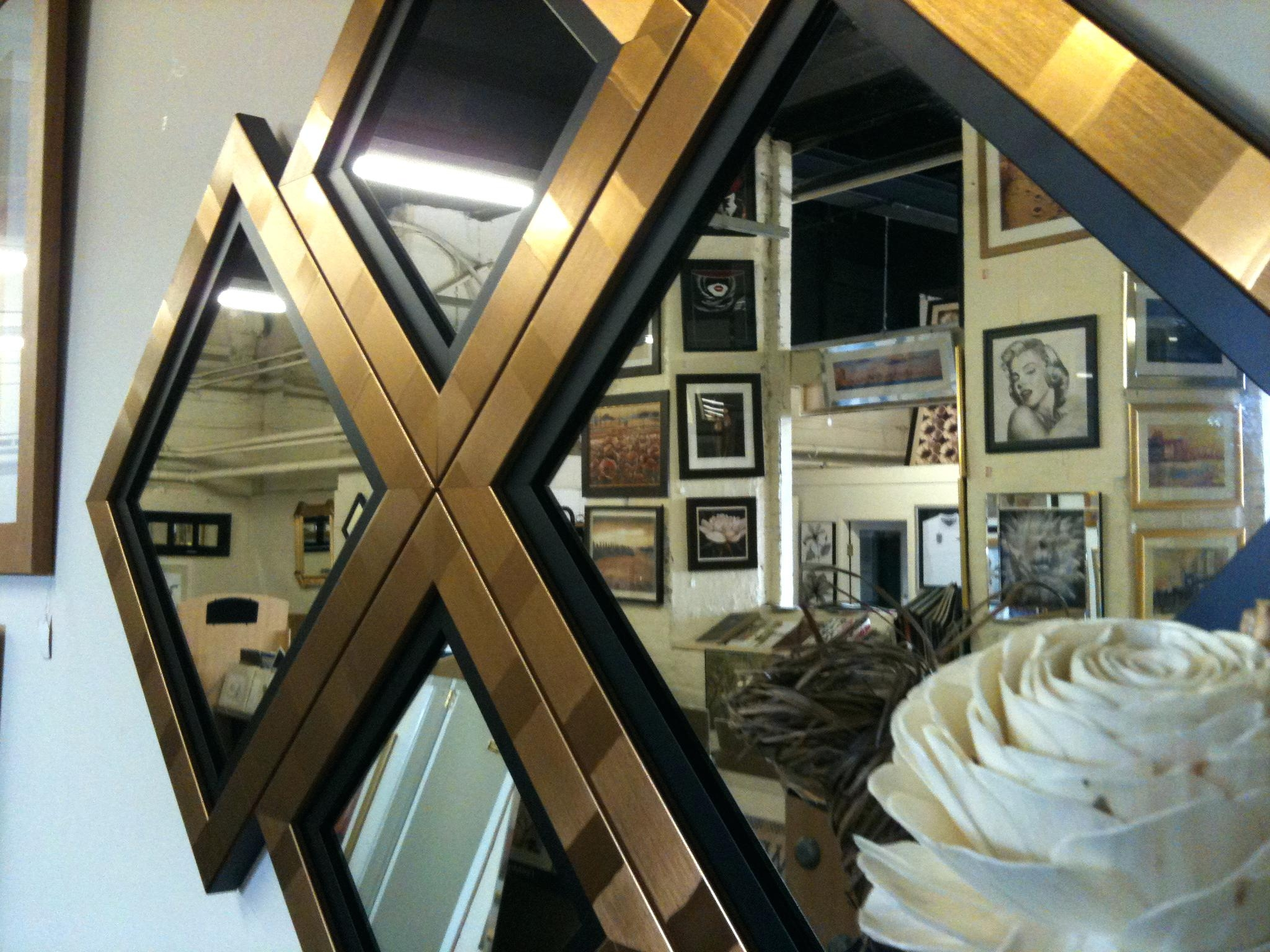 Featured Image of Black And Gold Wall Mirror