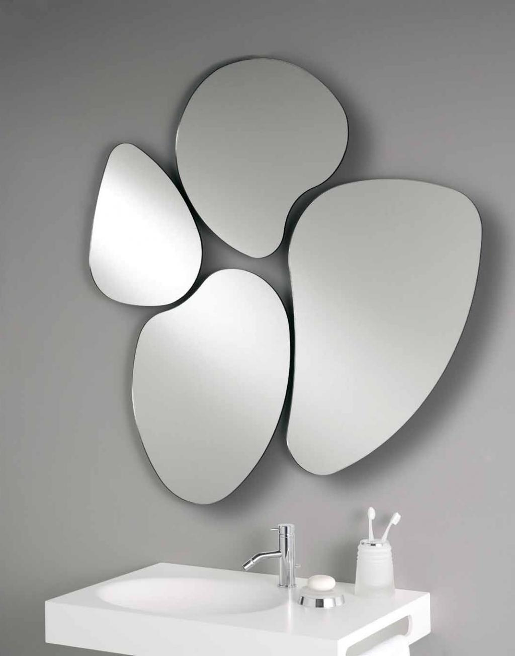 20 Gorgeous Diy Mirror Ideas Interesting Unique Mirror Ideas With Regard To Unusual Shaped Mirrors (Image 1 of 15)