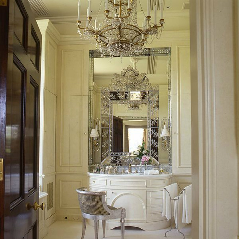 2015 Milan Design Week Trend To See Luxurious Venetian Mirrors With Regard To Venetian Mirrors Wholesale (Image 2 of 15)