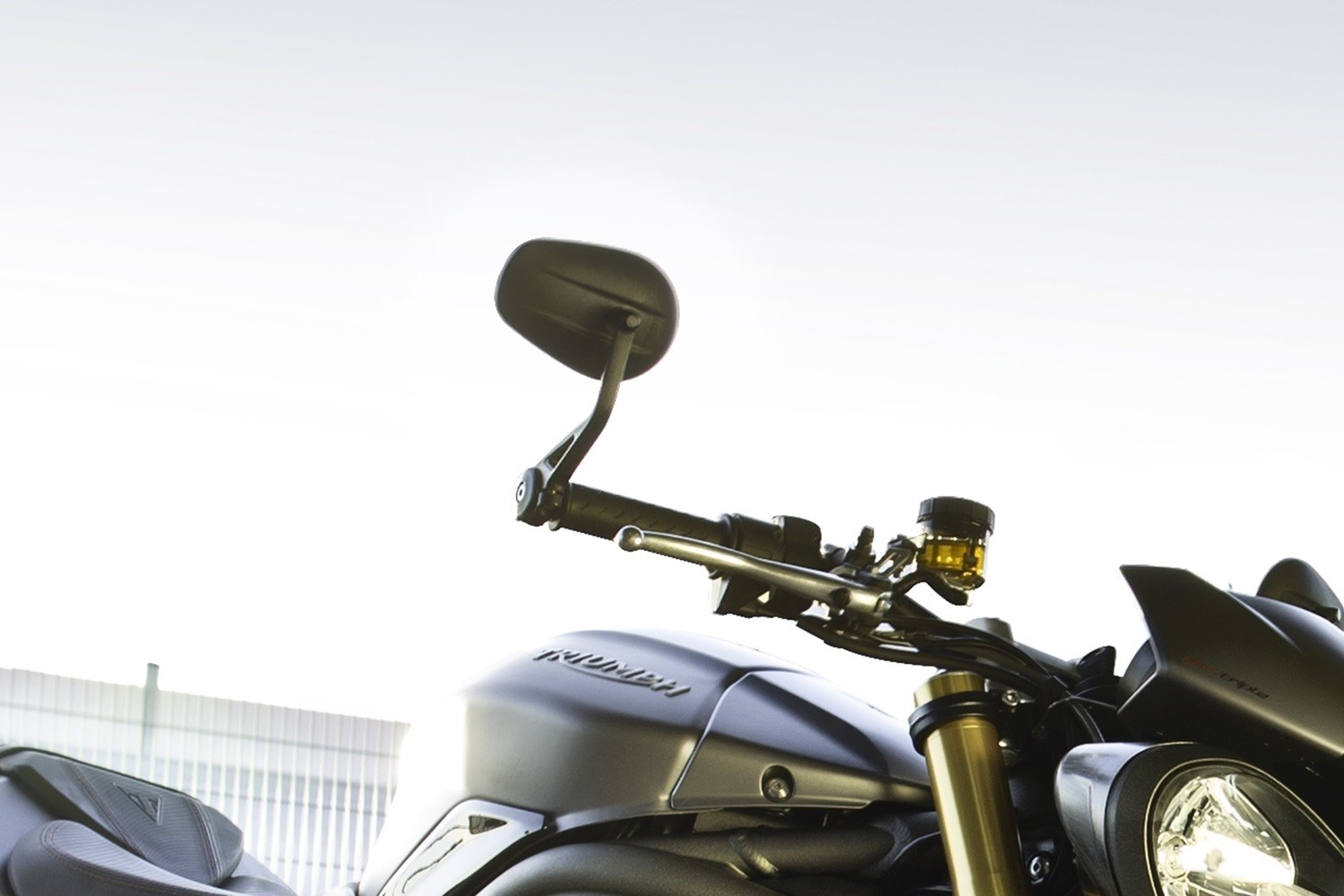 2016 Triumph Speed Triple R And Speed Triple S Handlebar Mirrors Intended For Triple Mirrors (View 9 of 15)