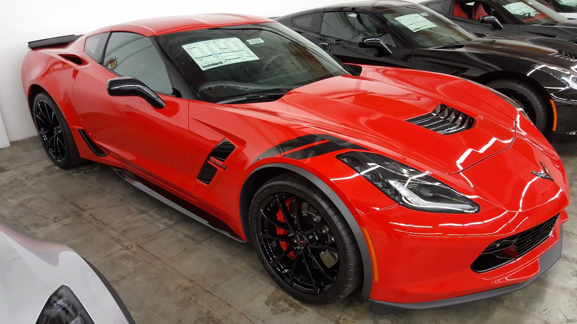 2017 Corvette Inventory At Boardwalk Chevrolet Great Sale Prices Throughout Red Mirrors For Sale (Image 1 of 15)
