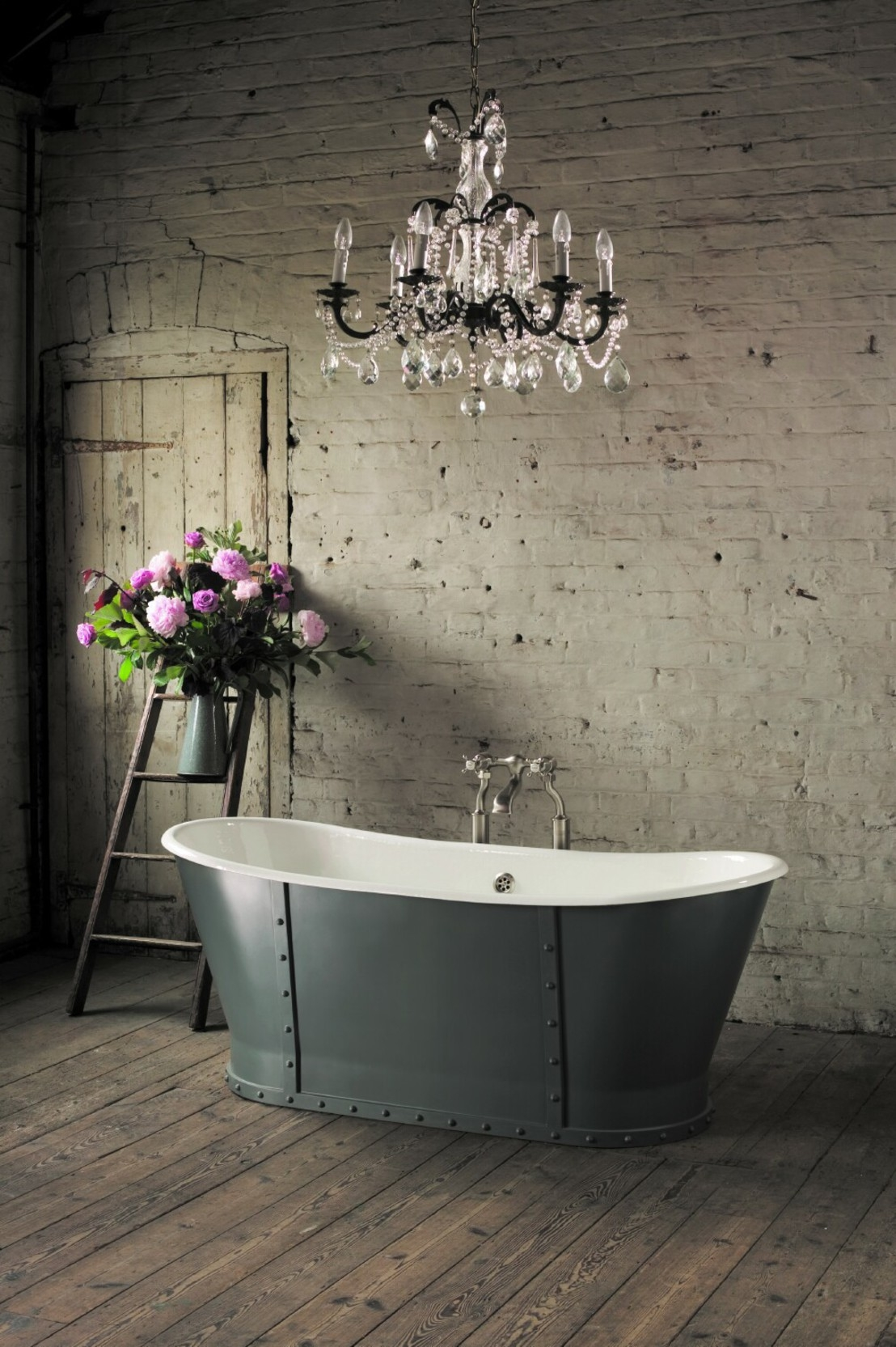 21 Ideas To Decorate Lamps Chandelier In Bathroom In Chandelier In The Bathroom (Image 1 of 15)