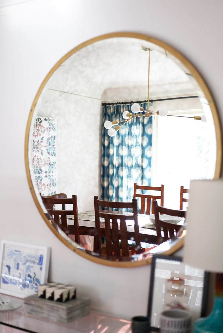 229 Best Images About Round Mirrors On Pinterest Wallpapers For Large Funky Mirrors (View 8 of 15)