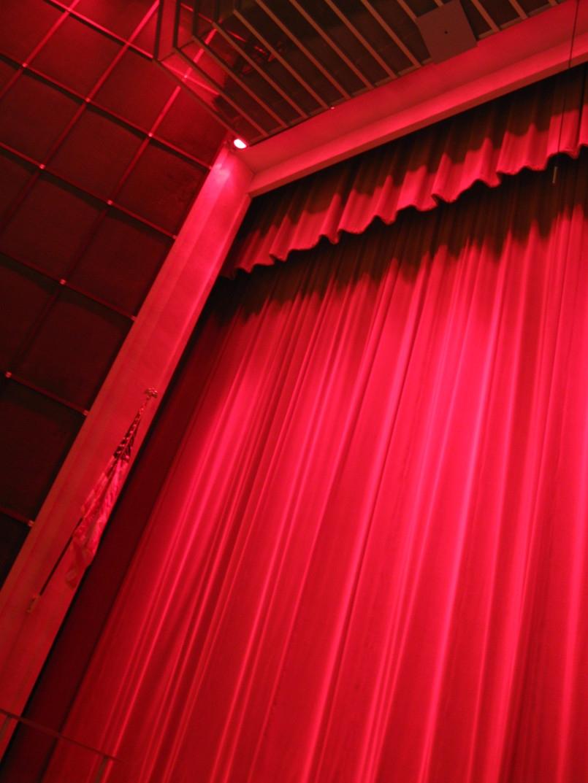 23 Red Velvet Curtains Drapes Velvet Theater Absolute Blackout With Dark Red Velvet Curtains (Image 2 of 15)