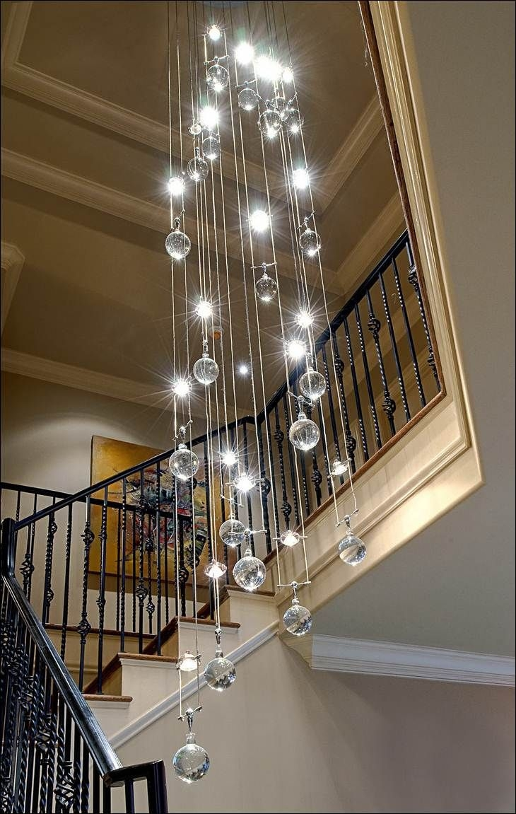 Featured Image of Staircase Chandeliers