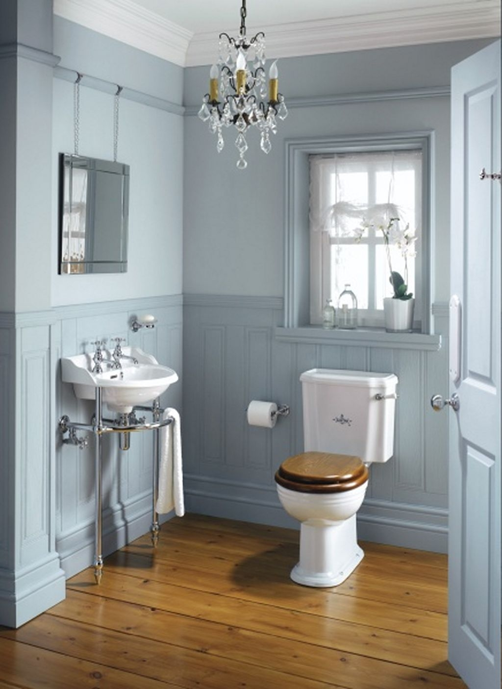 25 Beach Style Bathroom Design Ideas Bathrooms Decor Toilets With Victorian Style Mirrors For Bathrooms (Image 1 of 15)