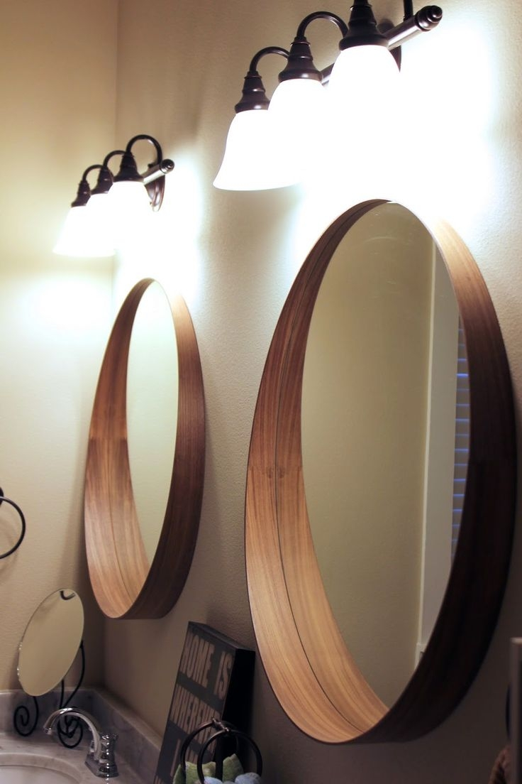 25 Best Bathroom Mirrors Ideas On Pinterest Intended For Funky Bathroom  Mirror (Image 1 Of