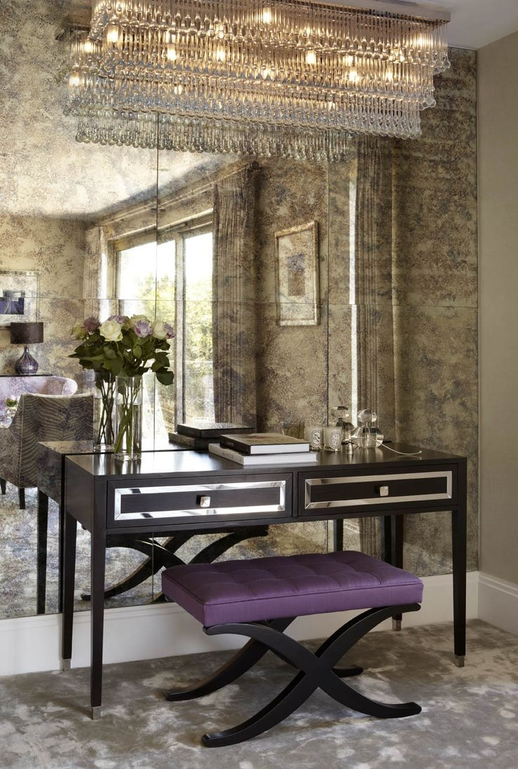 25 Best Ideas About Antiqued Mirror On Pinterest Distressed With Regard To Small Antique Wall Mirrors (Image 2 of 15)