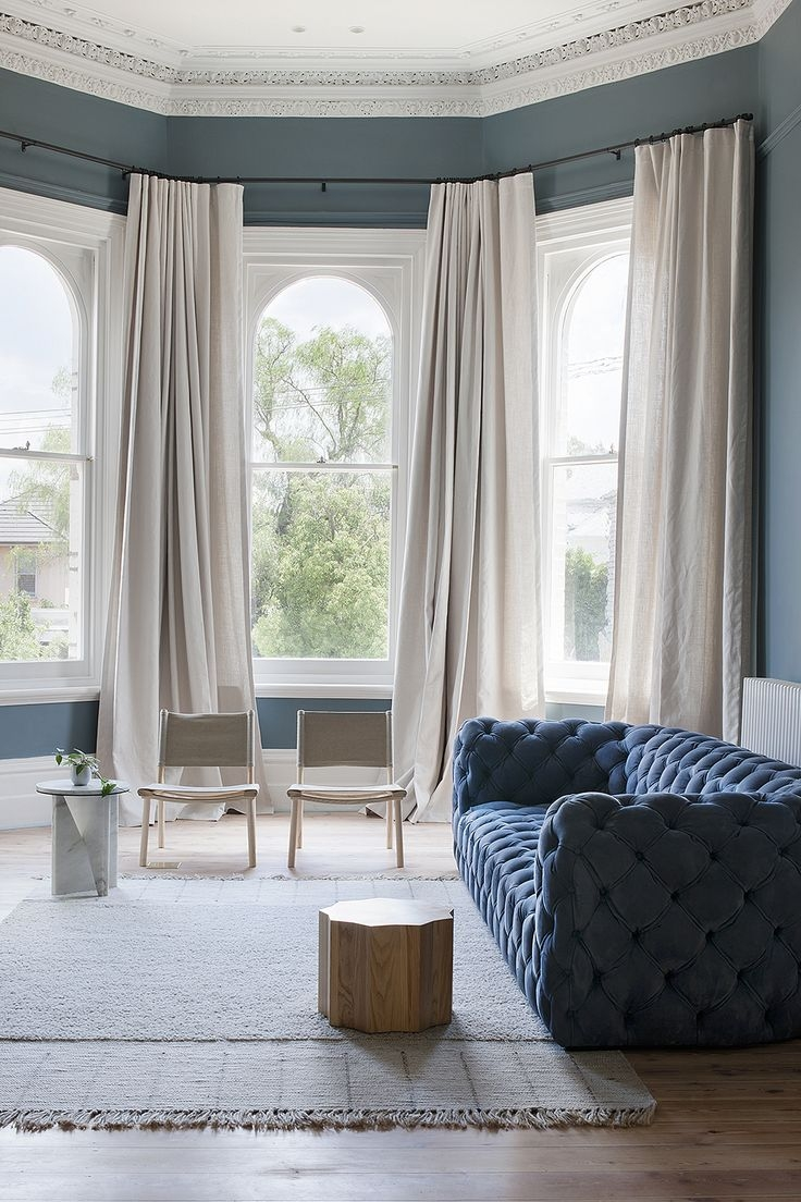 25 Best Ideas About Bay Window Curtains On Pinterest Bay Window With Regard To Blackout Curtains Bay Window (Image 1 of 15)