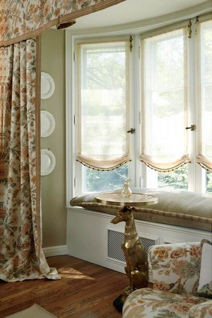 25 Best Ideas About Bay Window Drapes On Pinterest Bay Window With Regard To Bay Windows Curtains (Image 3 of 15)