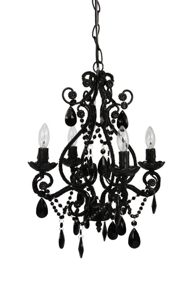 25 Best Ideas About Black Chandelier On Pinterest Gothic In Contemporary Black Chandelier (Image 1 of 15)