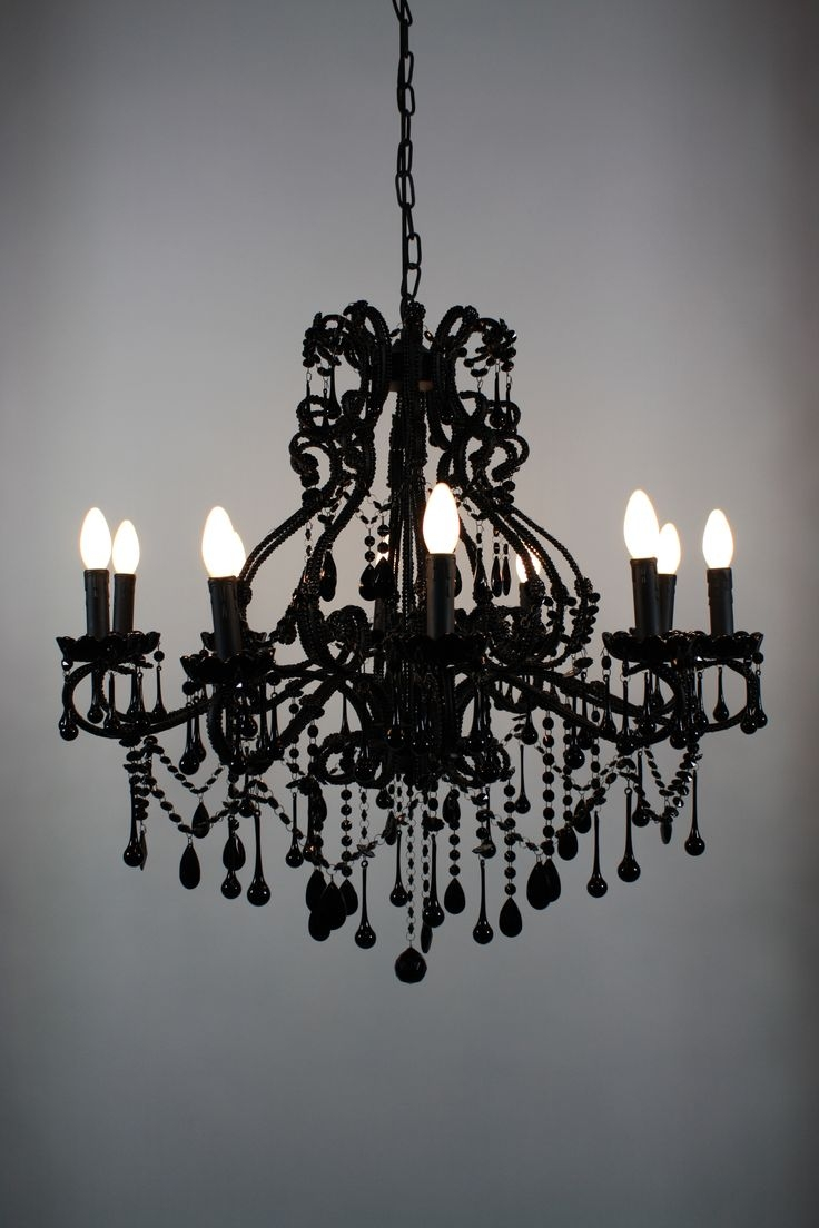 25 Best Ideas About Black Chandelier On Pinterest Gothic Regarding Black Chandeliers (Image 1 of 15)
