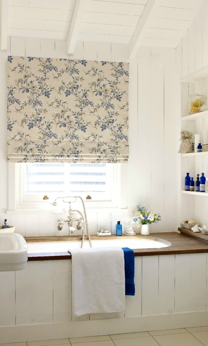 25 Best Ideas About Blue Roman Blinds On Pinterest Blue Kitchen With Regard To Blue Roman Blinds (Image 1 of 15)
