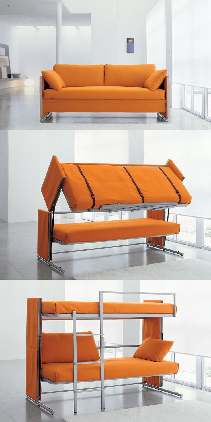 25 Best Ideas About Couch Bunk Beds On Pinterest With Regard To Cool Sofa Beds (Image 1 of 15)