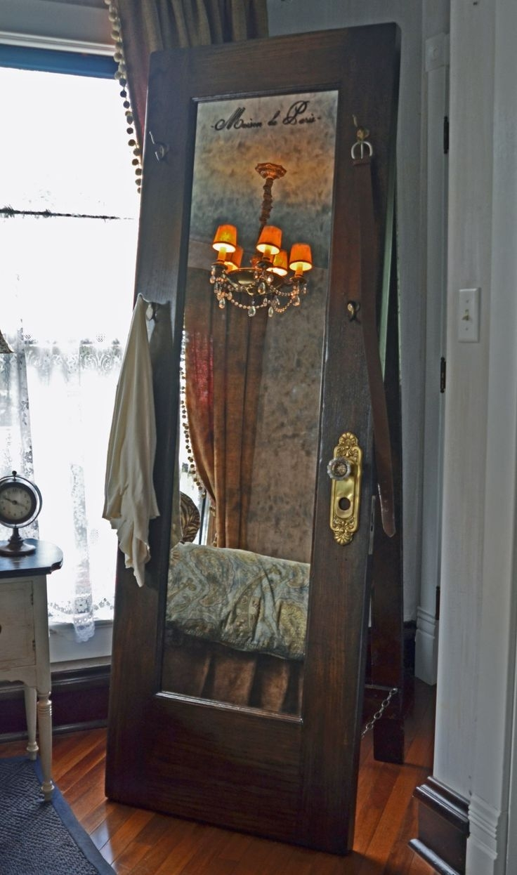 25 Best Ideas About Floor Standing Mirror On Pinterest Large For Full Length Antique Mirror (Image 1 of 15)