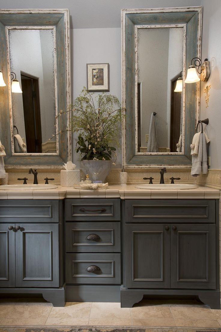 25 Best Ideas About French Country Bathrooms On Pinterest Intended For French Bathroom Mirror (Image 1 of 15)