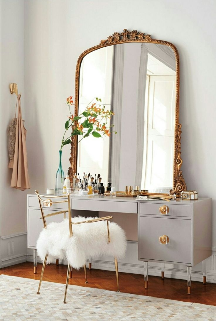 25 Best Ideas About Industrial Mirrors On Pinterest Oversized Intended For Big Vintage Mirrors (Image 1 of 15)