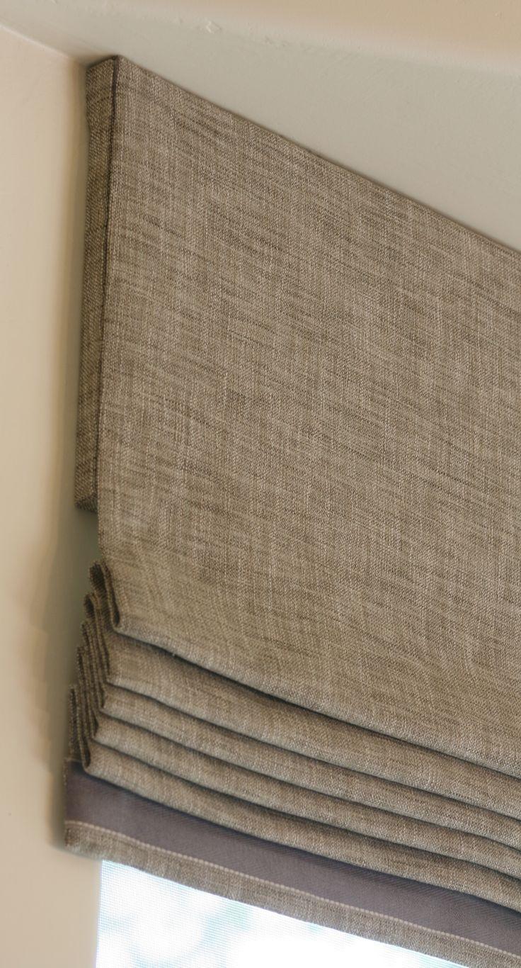 15 Best Ideas Natural Linen Roman Blinds Curtain Ideas