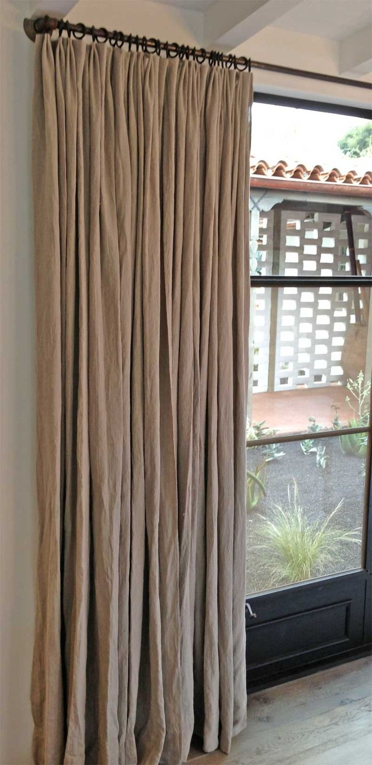25 Best Ideas About Natural Curtains On Pinterest Natural Pertaining To Natural Fiber Curtains (Image 1 of 15)