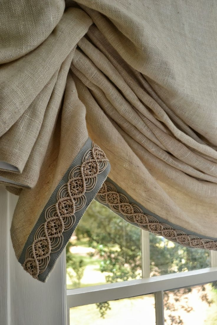 25 Best Ideas About Natural Linen On Pinterest Easter Table Pertaining To Natural Fabric Curtain (Image 1 of 15)