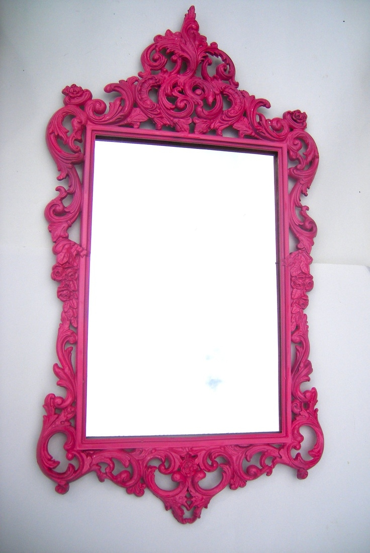 25 Best Ideas About Pink Mirror On Pinterest Copper Bedroom Regarding Large Pink Mirror (View 3 of 15)