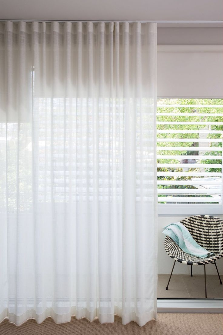25 Best Ideas About Sheer Blinds On Pinterest Sheer Shades Within Linen Roller Blind (Image 2 of 15)