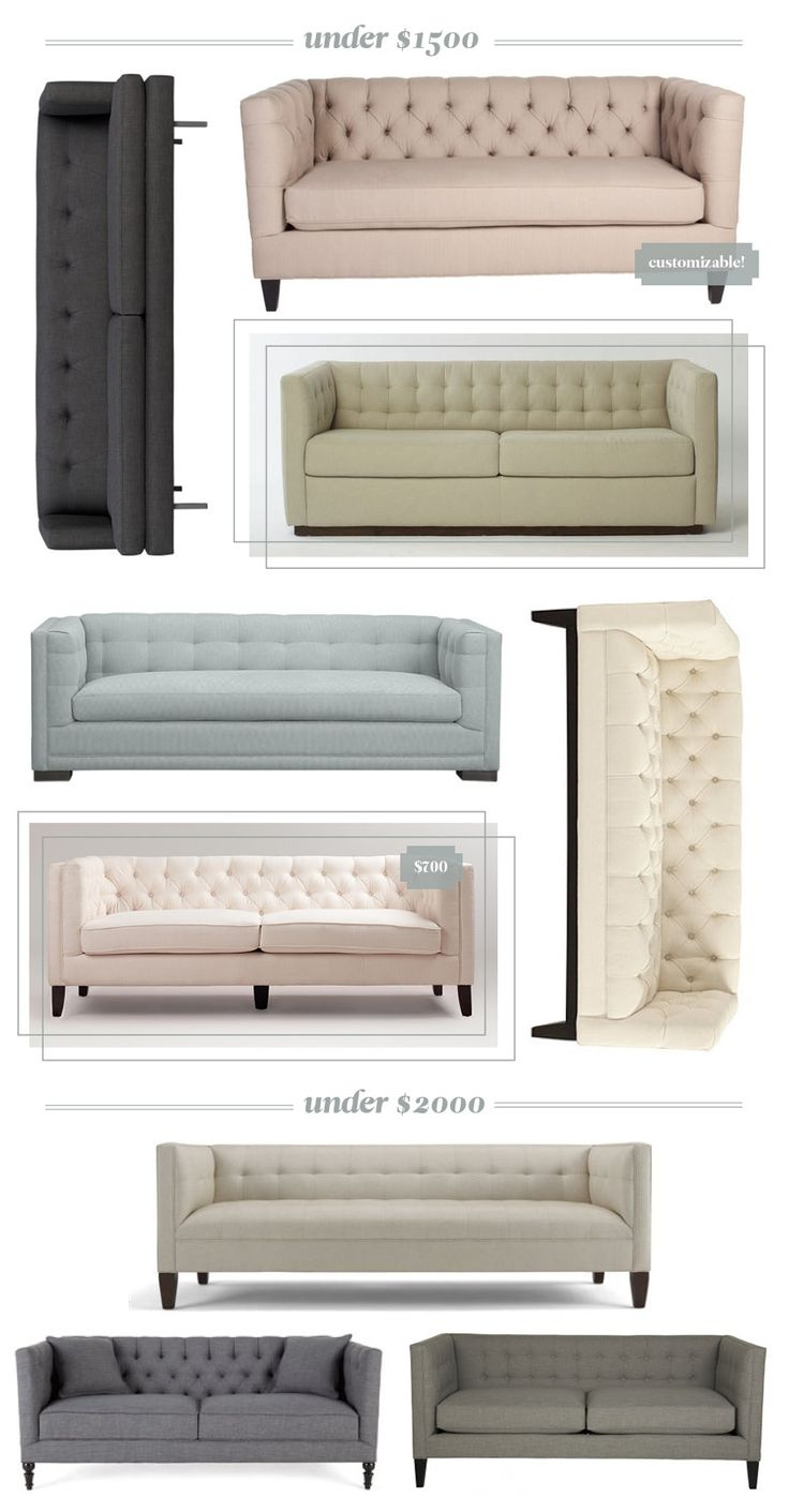 25 Best Ideas About Tufted Sofa On Pinterest Inside Affordable Tufted Sofa (View 3 of 15)