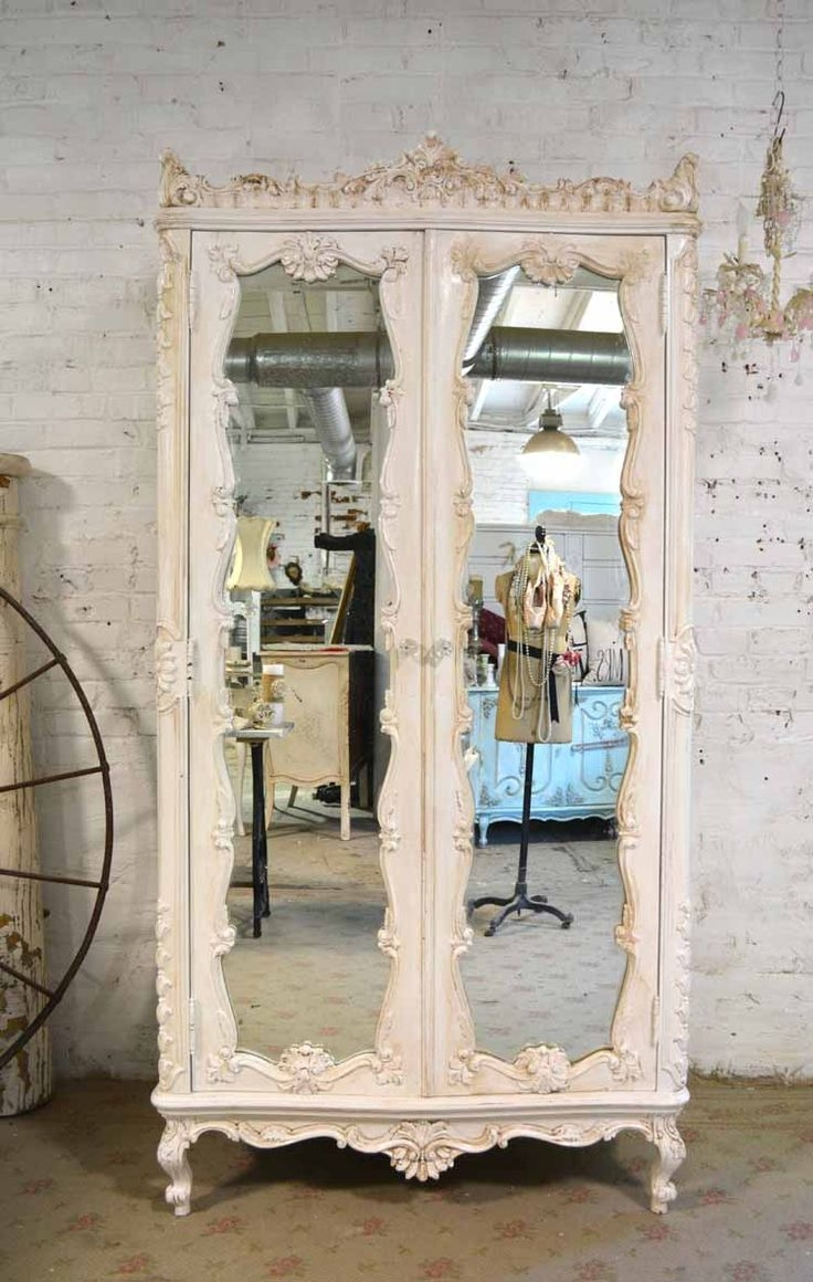 25 Best Ideas About Vintage Mirrors On Pinterest Bedroom Intended For Shabby Chic Window Mirror (Image 1 of 15)