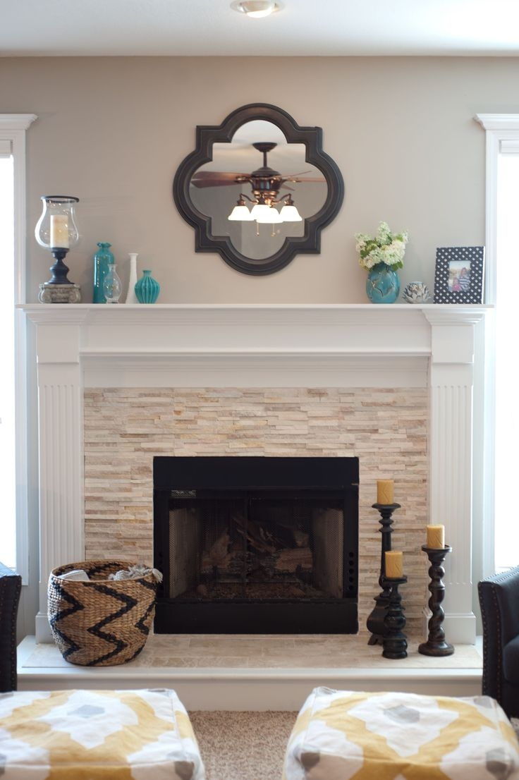25 Best Mirror Above Fireplace Ideas On Pinterest Fake With Mirror For Mantle (Image 4 of 15)