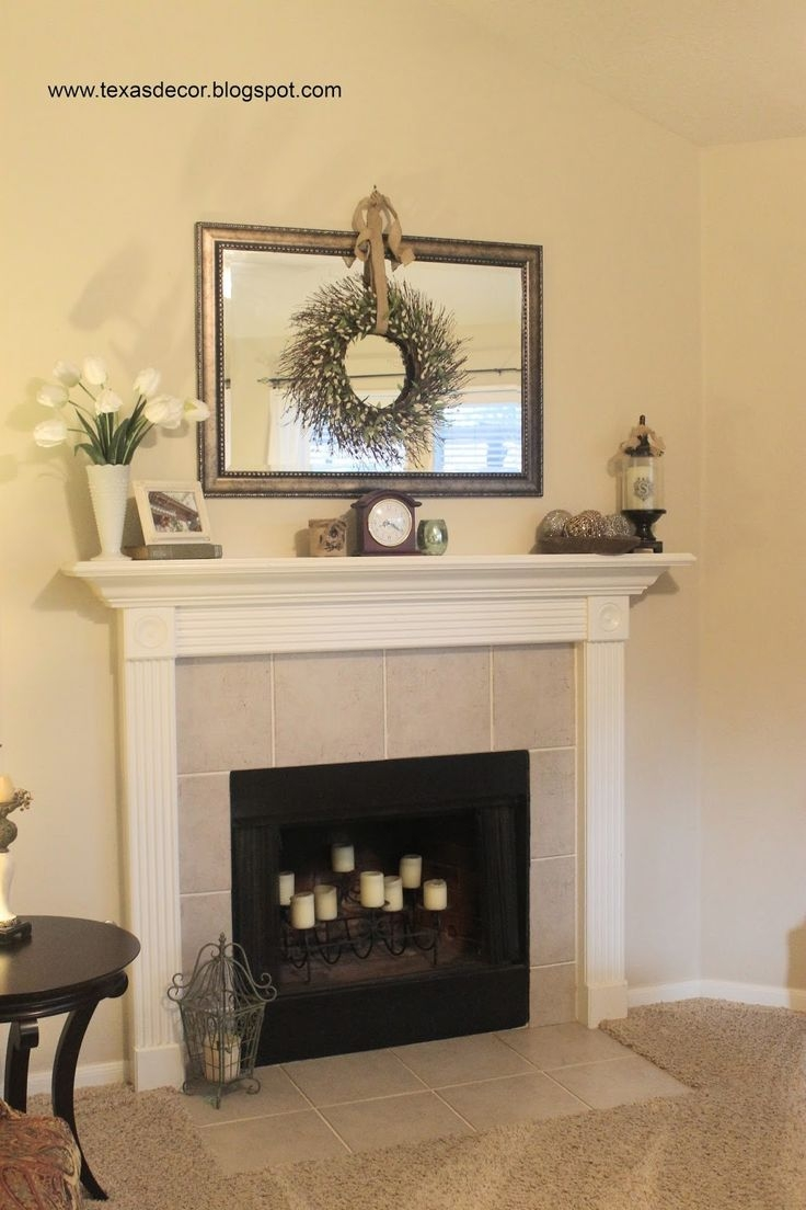 25 Best Mirror Above Fireplace Ideas On Pinterest Pertaining To Above Mantel Mirrors (Image 2 of 15)