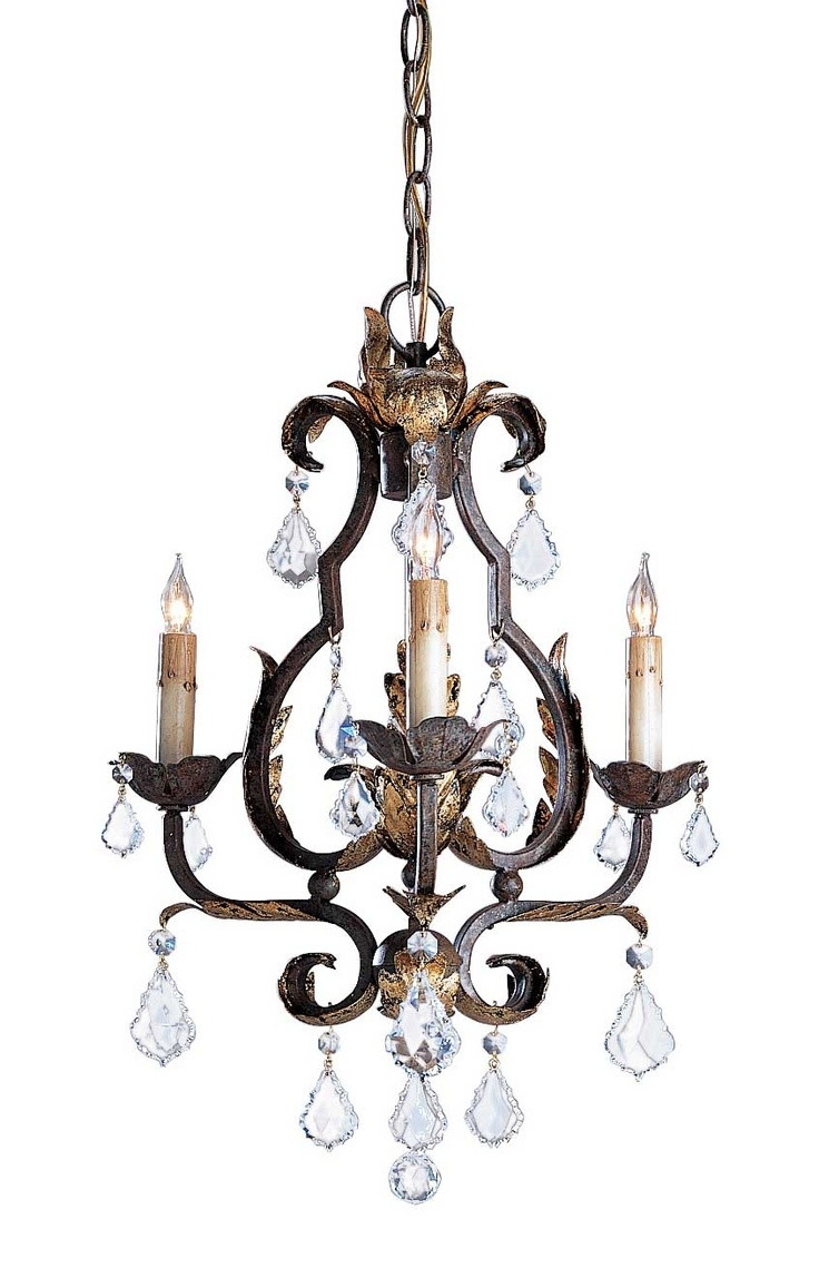 25 Best Small Chandeliers Ideas On Pinterest Lighting For With Regard To Small Bronze Chandelier (Image 1 of 15)