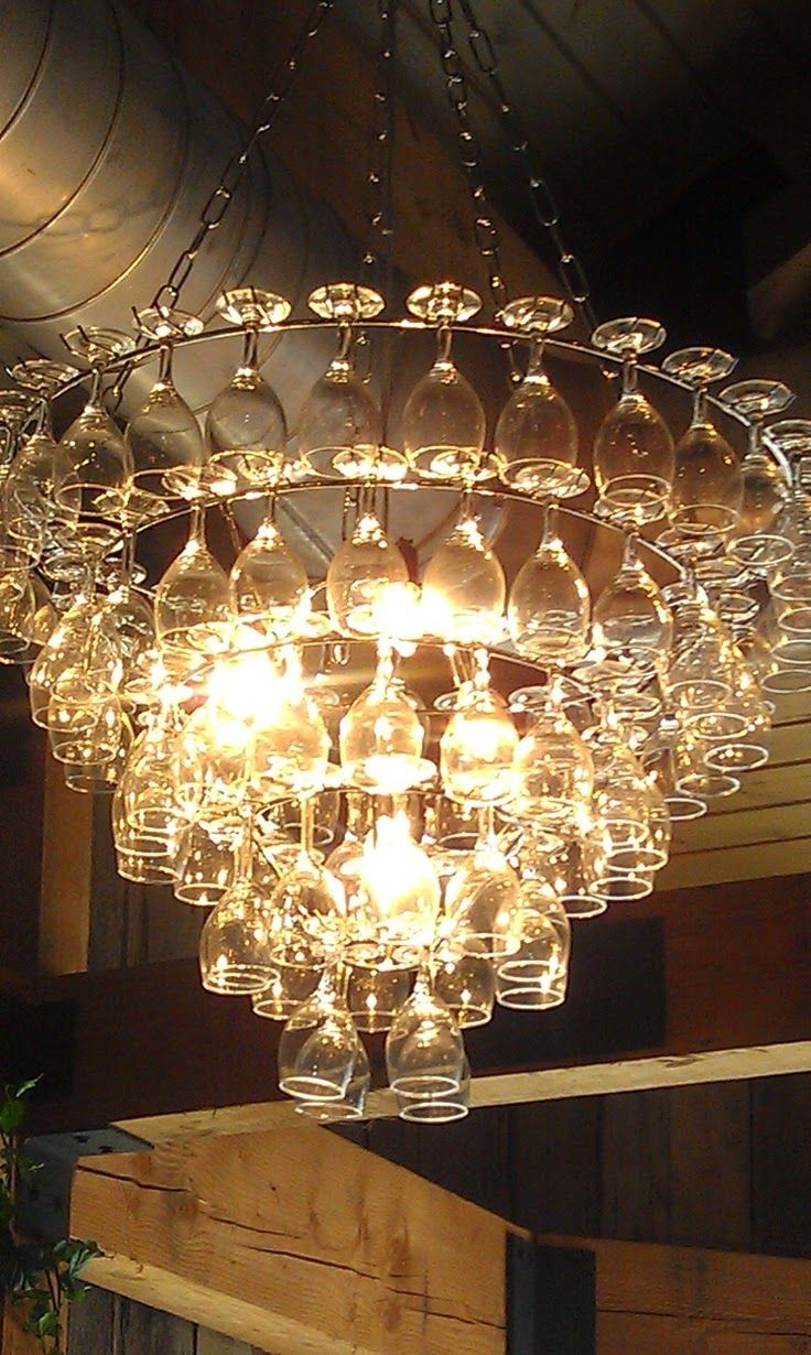 25 Great Ideas About Glass Chandelier On Pinterest Dining In Glass Chandeliers (Image 1 of 15)