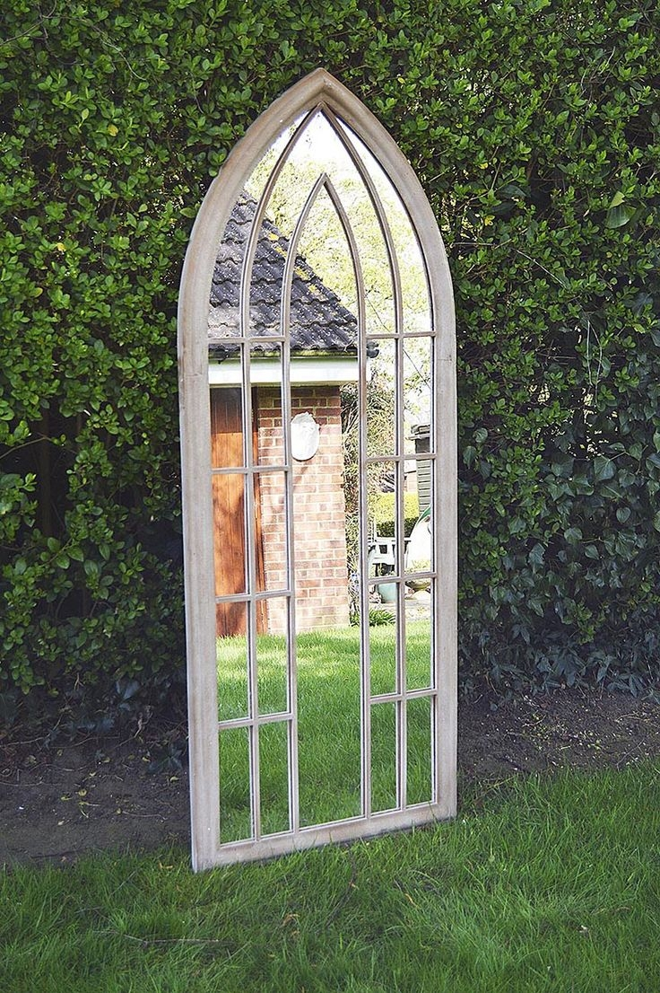 26 Best Images About Garden Mirrors On Pinterest Gardens For In Garden Wall Mirrors (View 15 of 15)