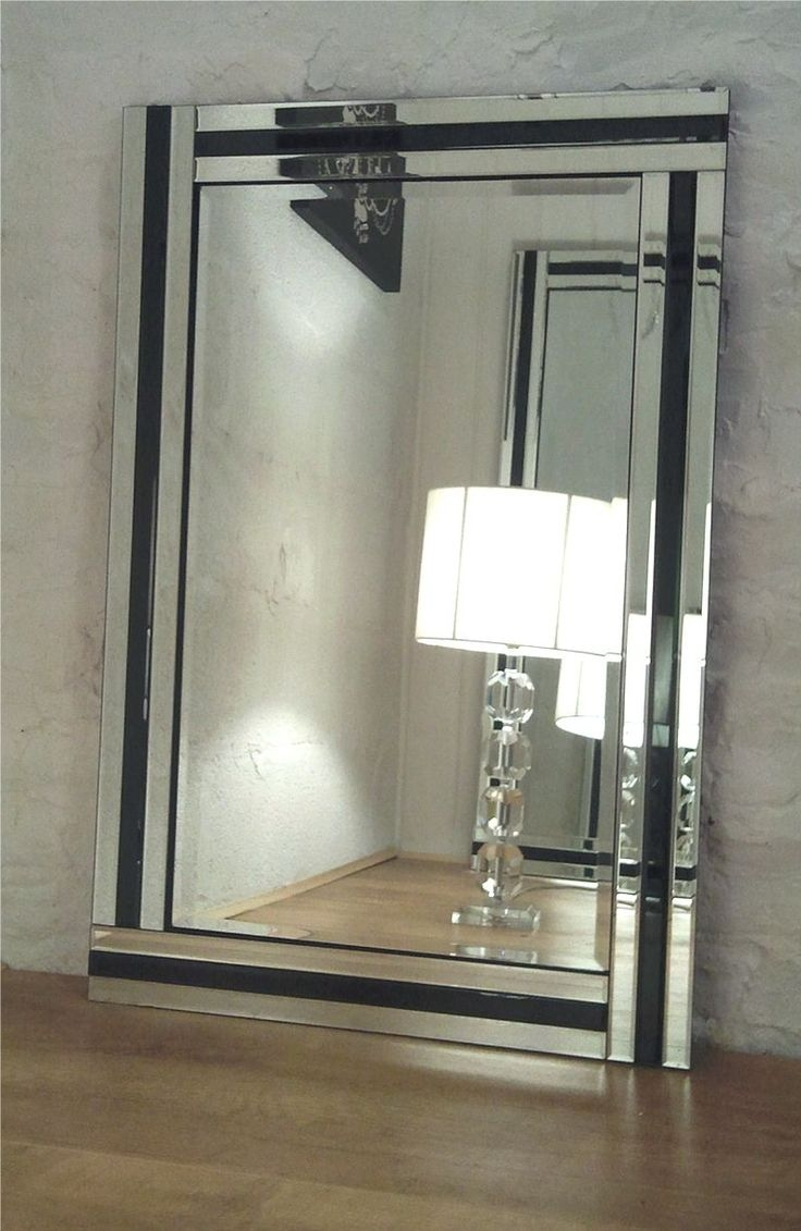 27 Best Images About Mirrors On Pinterest In Large Glass Bevelled Wall Mirror (Image 1 of 15)