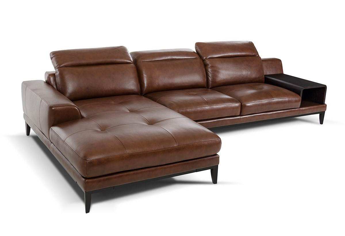 27 Dobson Black Leather Modern Sectional Sofa For Completing Home Intended For Dobson Sectional Sofa (Image 1 of 15)