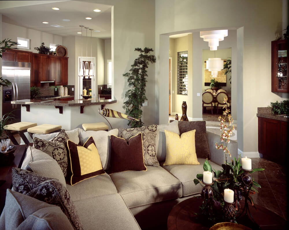 27 Elegant Living Room Sectionals Inside Camel Colored Sectional Sofa (Image 1 of 15)
