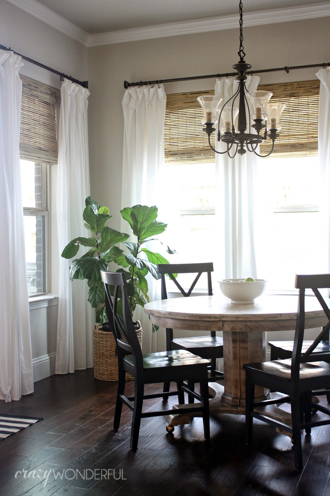 28 Ways To Spruce Up White Curtains Roman Shades Love The And Regarding Natural Fiber Curtains (Image 3 of 15)