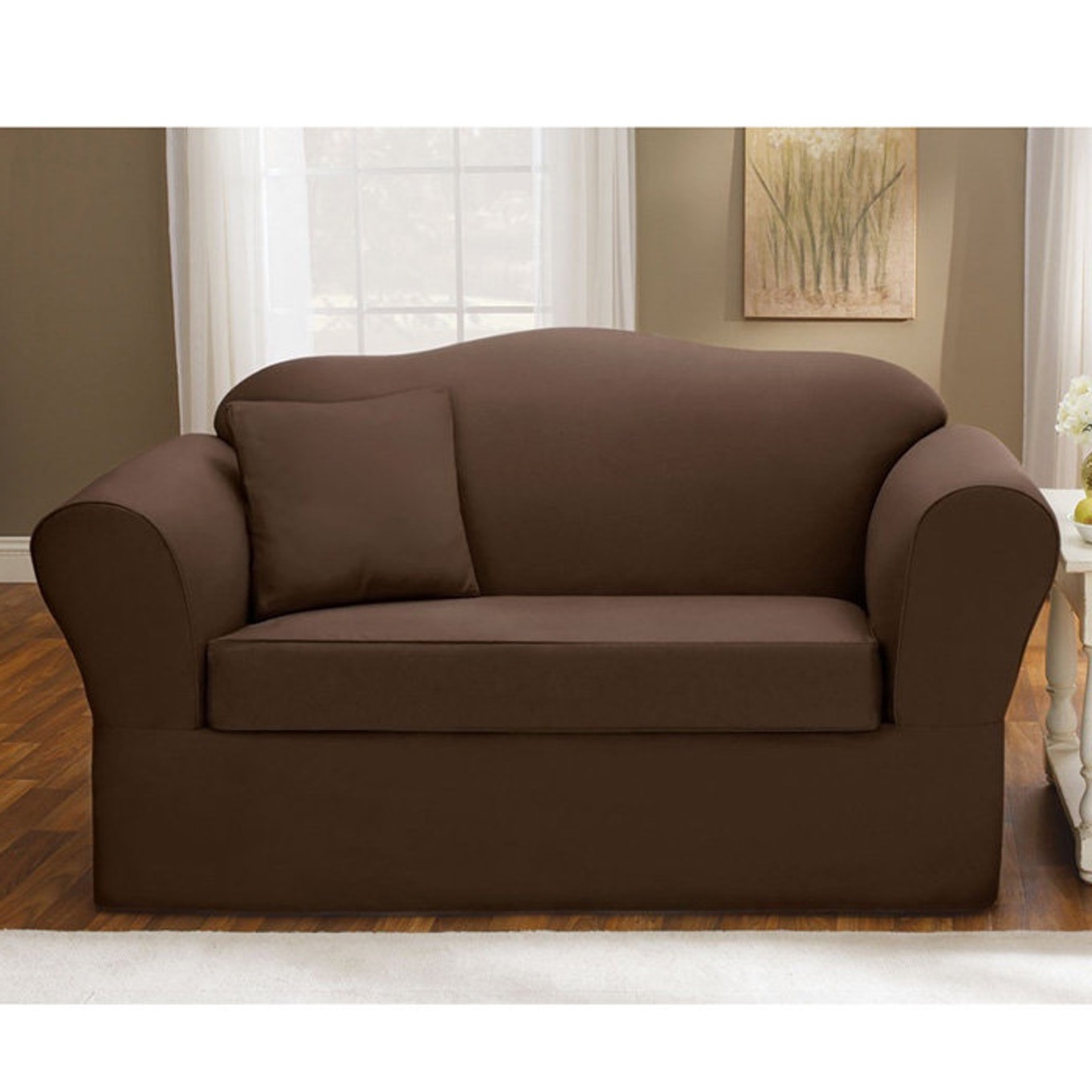 3 Piece Sectional Sofa With Chaise Slipcover Gallery Image With 3 Piece Sectional Sofa Slipcovers (Image 4 of 15)
