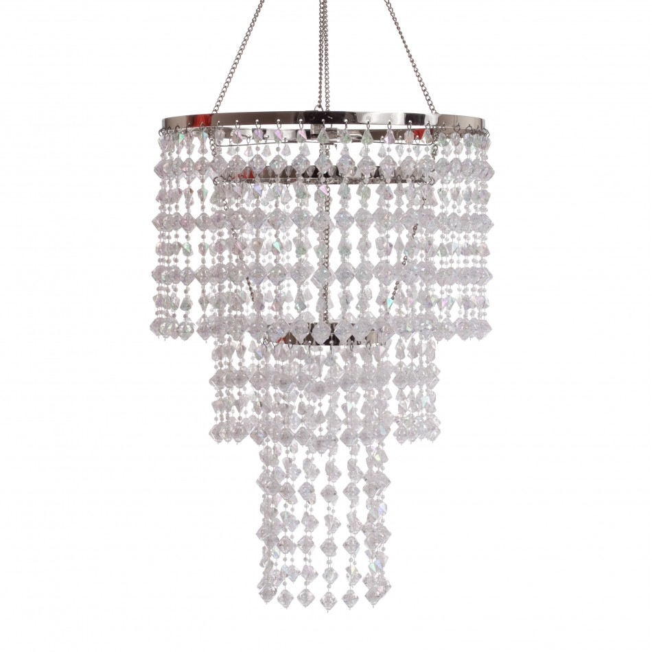 Featured Image of 3 Tier Crystal Chandelier