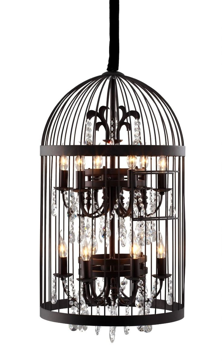32 Best Images About Bird Cage Chandeliers On Pinterest Painted With Regard To Cage Chandeliers (Image 1 of 15)