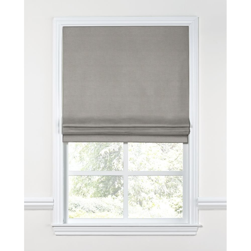 36 40 Roman Blinds Shades Youll Love Wayfair Pertaining To Neutral Roman Blinds (View 13 of 15)