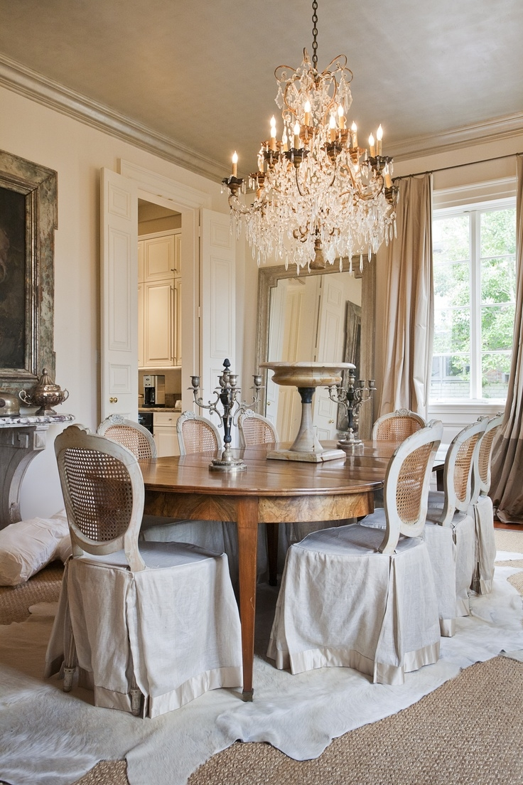 367 Best Images About Devine Dining Rooms On Pinterest Table And For Country Chic Chandelier (Image 4 of 15)