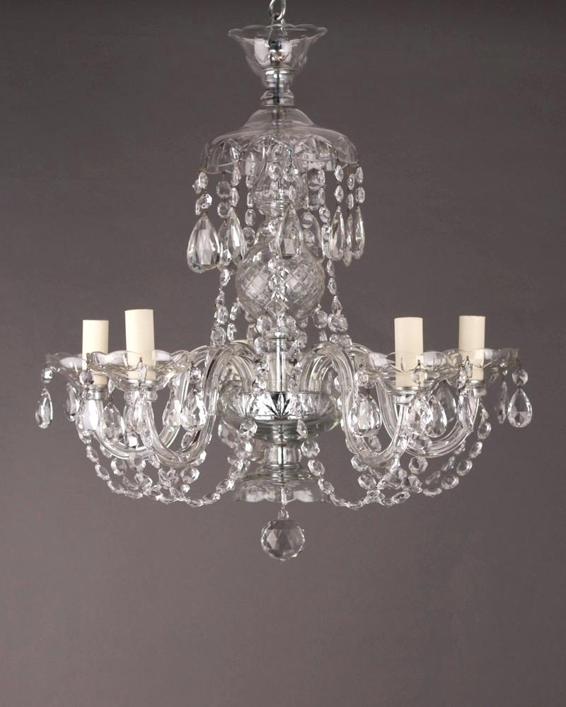 4 Light Chrome Crystal Chandelier Lucinda Branch Chandelier With Regard To Lucinda Branch Chandelier (Photo 13 of 15)