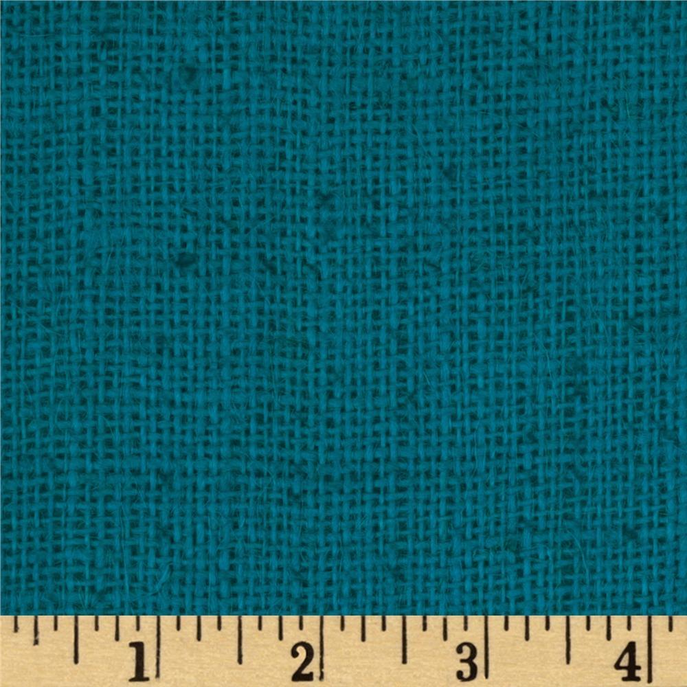 47 Shalimar Burlap Turquoise Discount Designer Fabric Fabric For Turquoise Burlap Curtains (View 4 of 15)