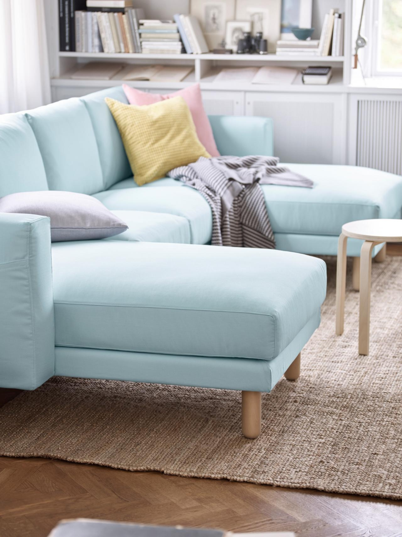 5 Apartment Sized Sofas That Are Lifesavers Hgtvs Decorating Throughout Apartment Sofa Sectional (Image 1 of 15)