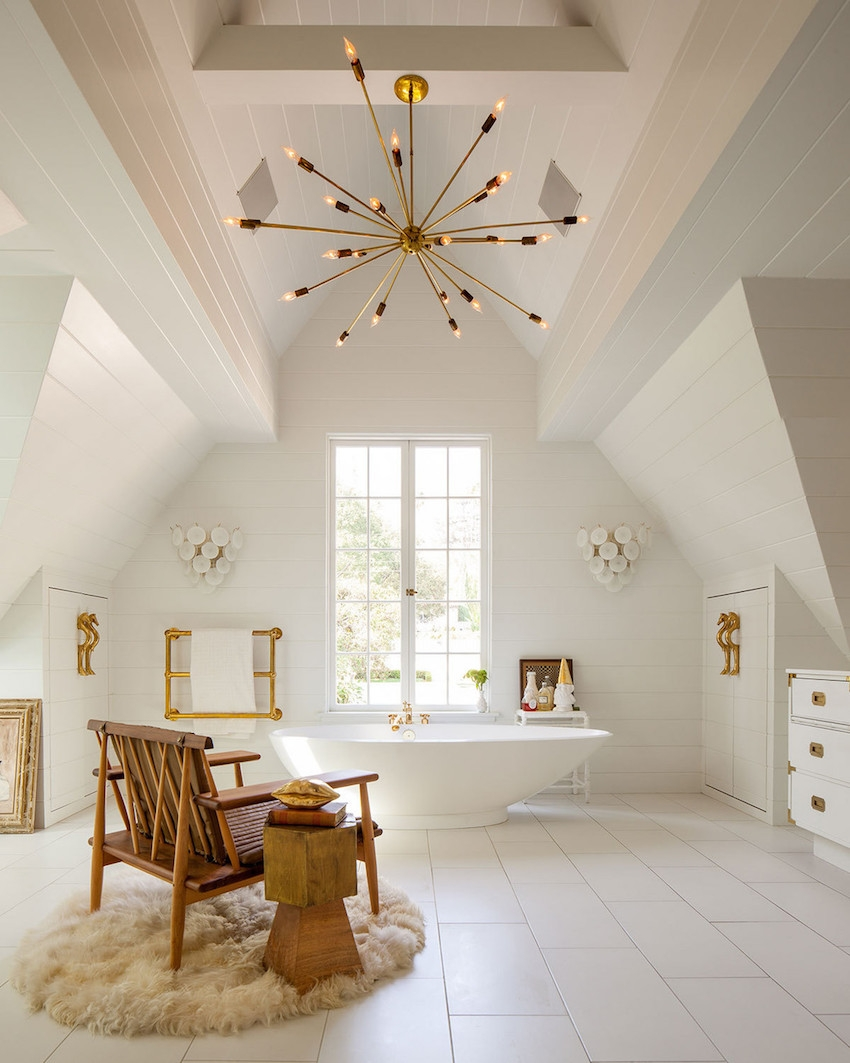 5 Golden Rules To Choose The Best Bathroom Chandelier Intended For Chandelier In The Bathroom (Image 9 of 15)
