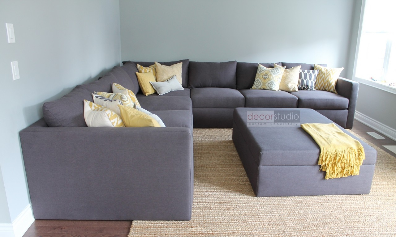 51 Custom Sectional Sofa Media Room Custom Sectional Sofa Pertaining To Custom Made Sectional Sofas (Image 2 of 15)