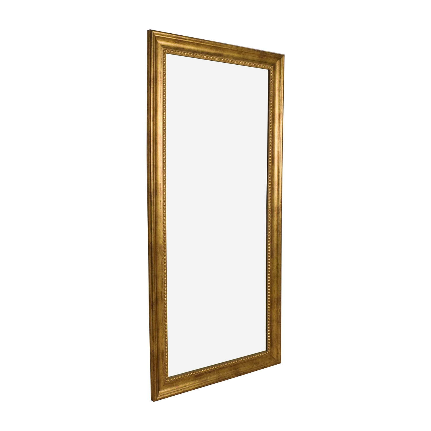 51 Off Gold Frame Standing Mirror Decor Intended For Gold Standing Mirror (View 3 of 15)