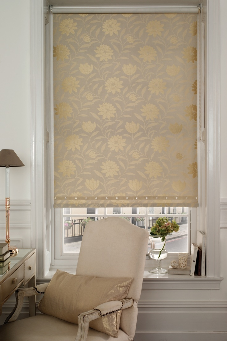 53 Best Images About Roller Blinds On Pinterest Rollers Roller Regarding Patterned Roller Blind (Image 1 of 15)