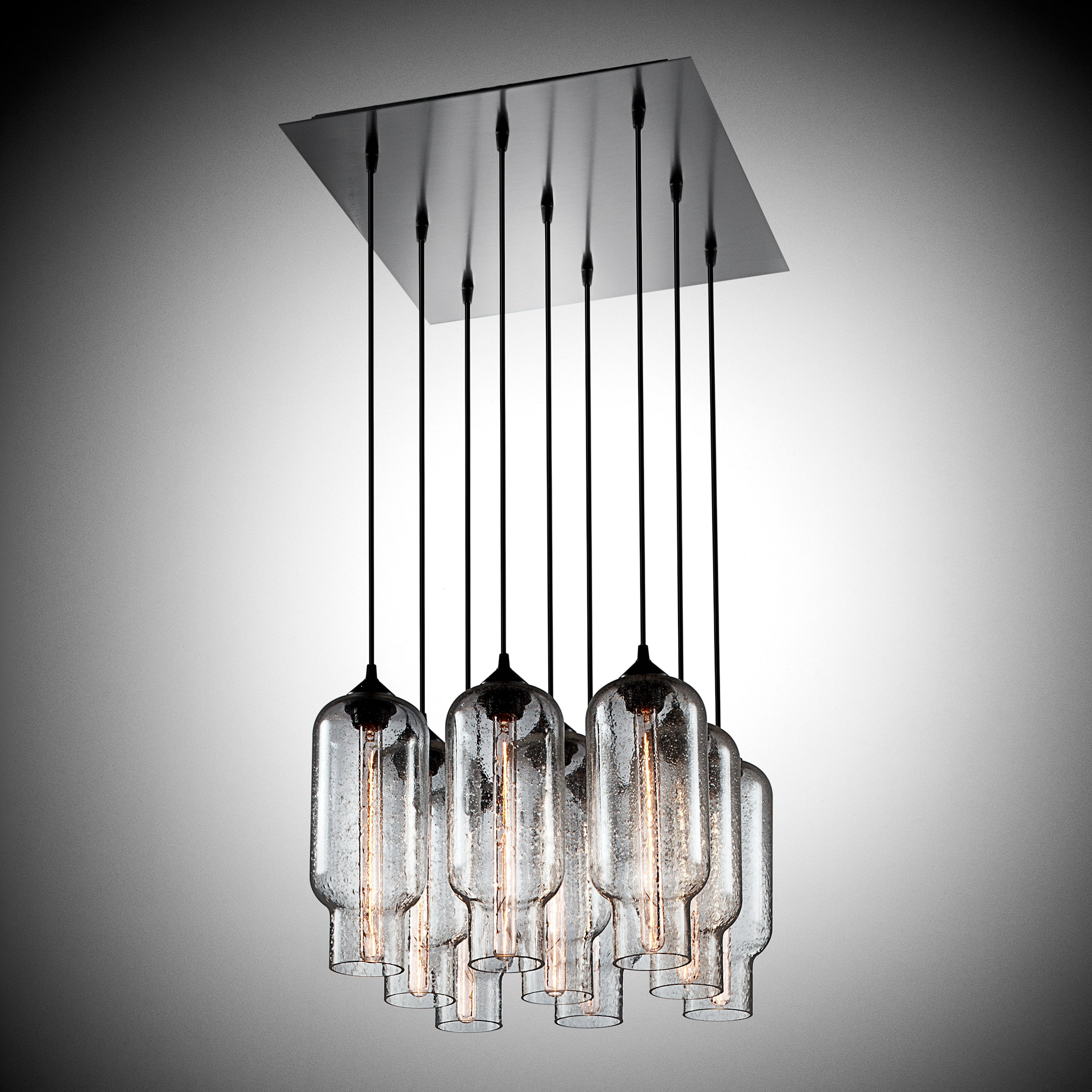 53 Modern Chandelier Lighting Chromecrystalmetal Bubble Shade For Contemporary Modern Chandelier (Image 1 of 15)